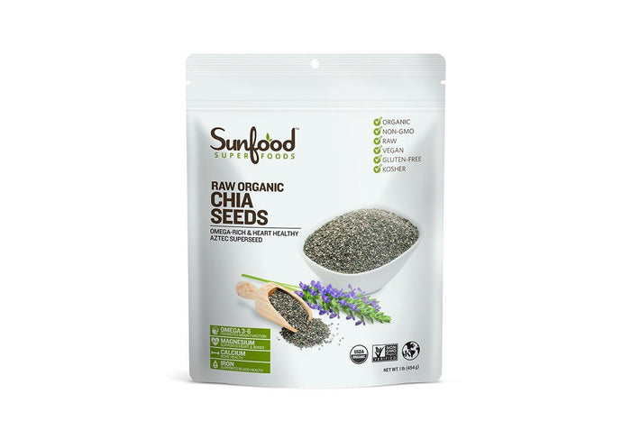 Organic Chia Seeds by Sunfood