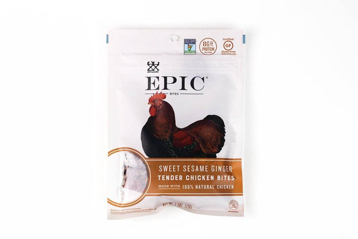 Sweet Sesame Ginger Tender Chicken Bites by EPIC