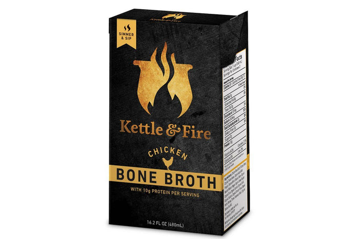 Chicken Bone Broth by Kettle & Fire