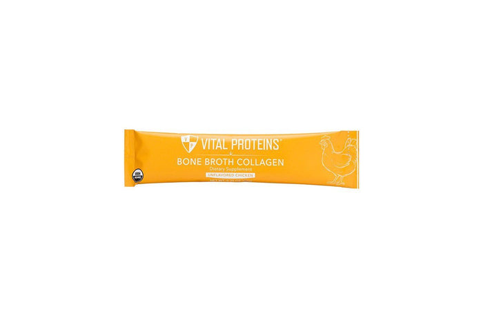 Chicken Bone Broth Collagen Sticks, Unflavored, Single Stick by Vital Proteins