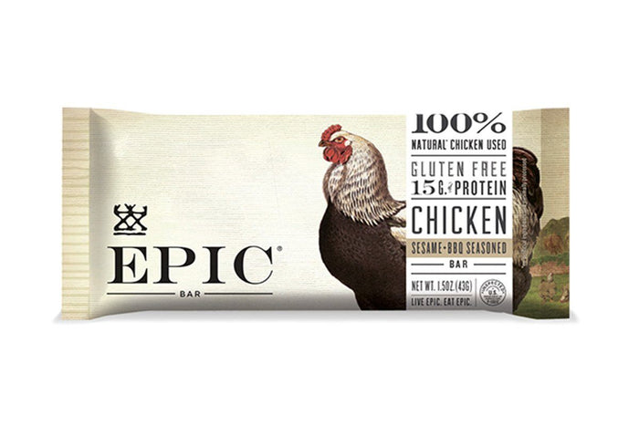 Chicken Sesame BBQ EPIC Bar by EPIC