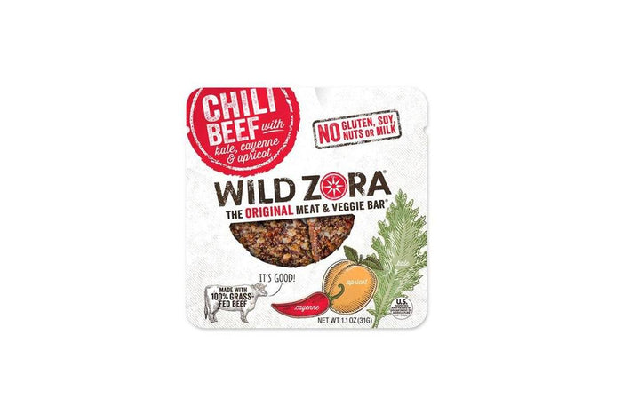 Chili Beef with Cayenne and Apricot Bar by Wild Zora