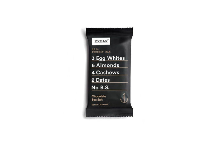 Chocolate Sea Salt Bar by RXBAR