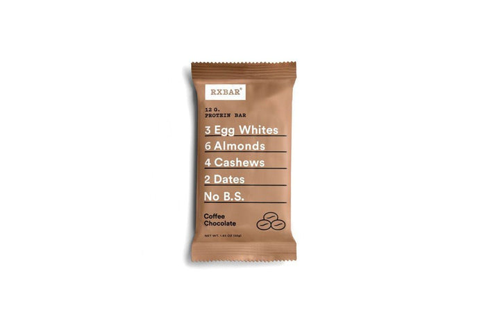 Coffee Chocolate Protein Bar by RXBAR
