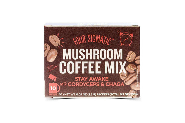 Mushroom Coffee with Cordyceps and Chaga by Four Sigmatic