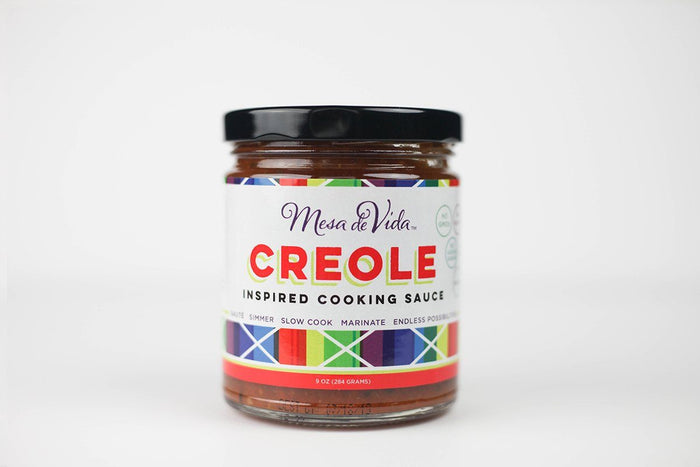 Creole Inspired Cooking Sauce by Mesa de Vida