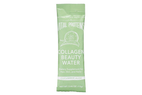 Cucumber Aloe Collagen Beauty Water Sticks, Single Stick by Vital Proteins
