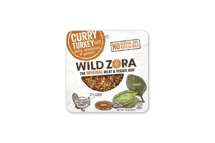 Curry Turkey with Dates, Cardamom & Spinach by Wild Zora