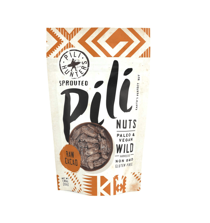 Raw Cacao Pili Nuts by Pili Hunters - 1.85 oz