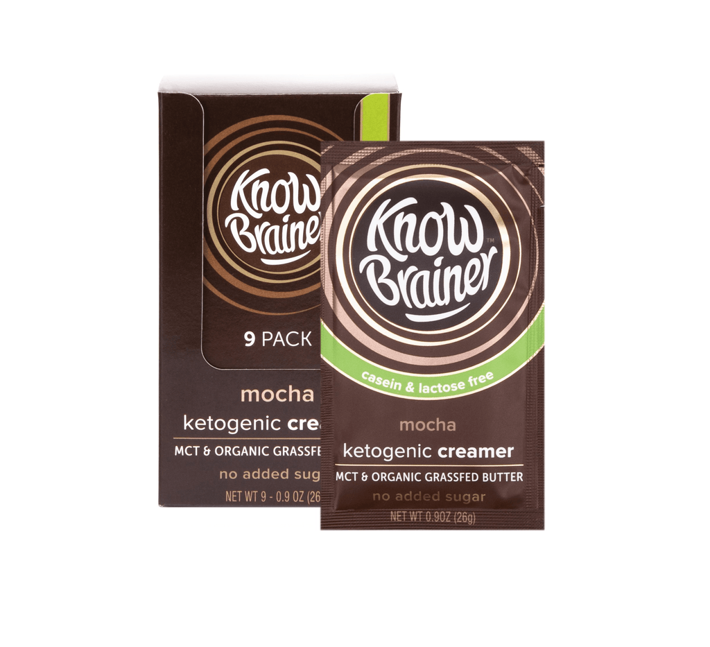 Mocha Ketogenic Creamer by Know Brainer