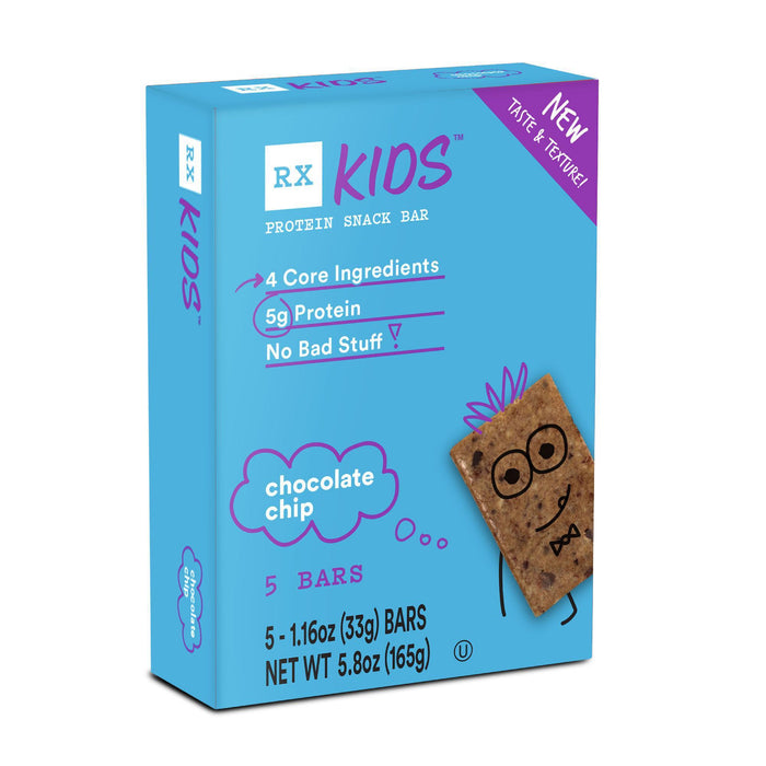 RX Kids Chocolate Chip (box of 5 bars) by RXBAR