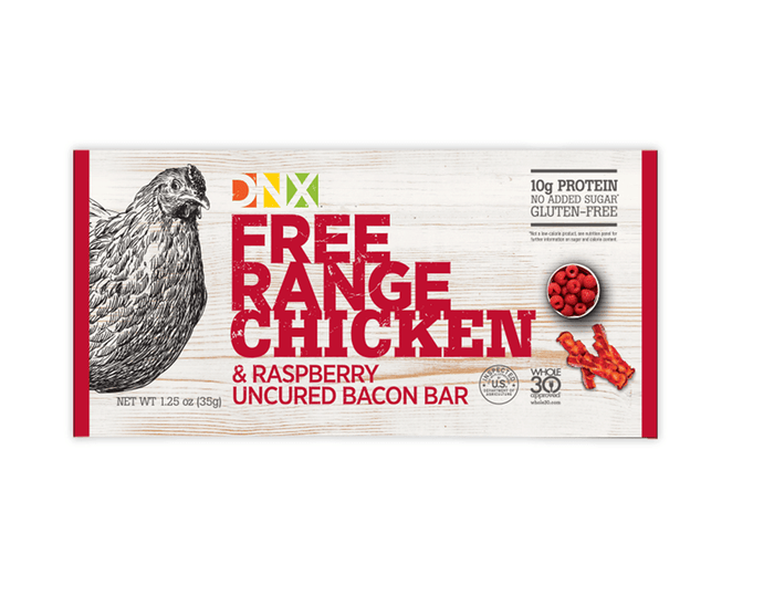 Free Range Chicken Raspberry and Uncured Bar by DNX