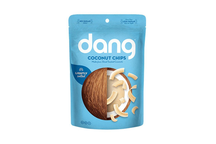 Sea Salt Toasted Coconut Chips, 1.4 oz by Dang