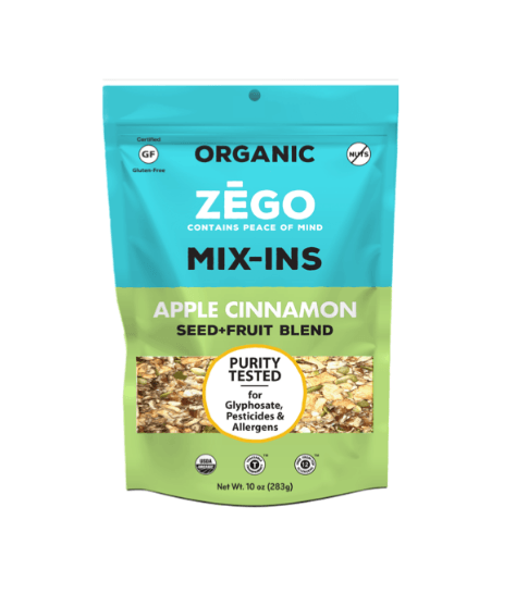 Apple Cinnamon Mix-Ins 10 oz Bag by ZEGO