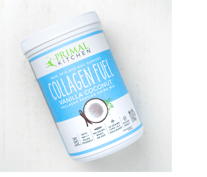 Vanilla Collagen Fuel Protein Shake by Primal Kitchen