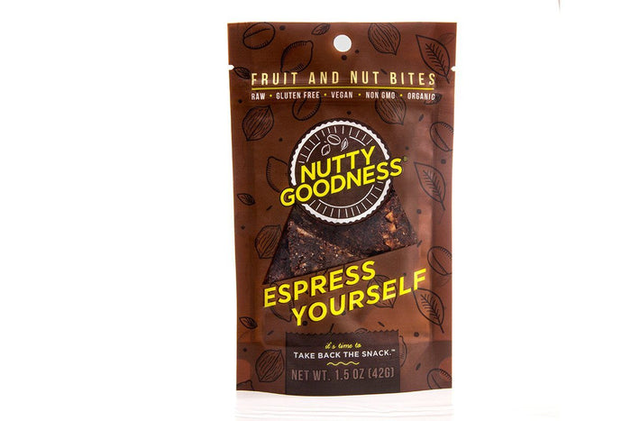 Espress Yourself Fruit Bites by Nutty Goodness