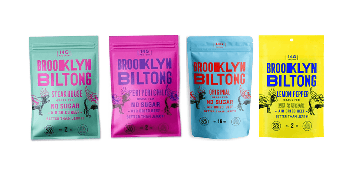 Seasoned Dried Meat Sampler Pack by Brooklyn Biltong