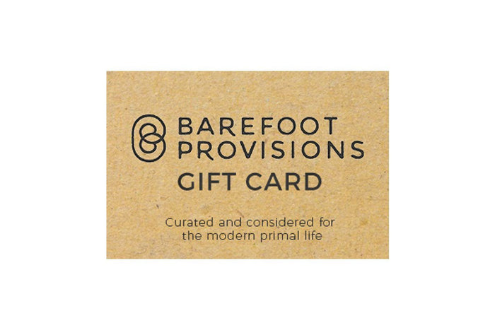The Barefoot Gift Card