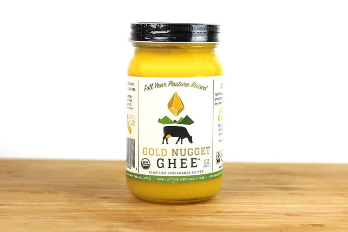 Grass-Fed Organic Ghee by Gold Nugget Ghee