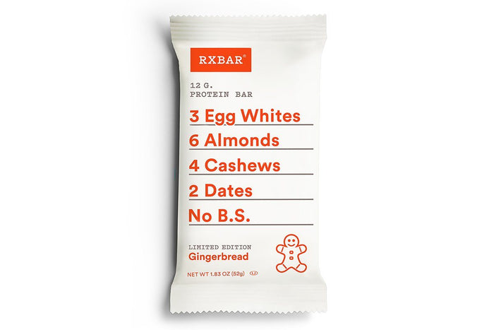 Gingerbread Protein Bar by RXBAR