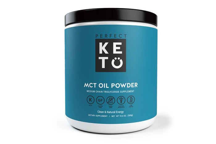 MCT Oil Powder, Unflavored, by Perfect Keto