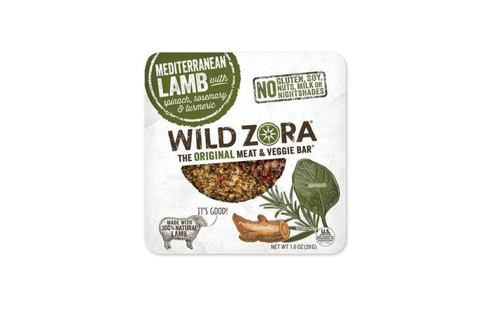 Lamb with Rosemary and Spinach Bar by Wild Zora