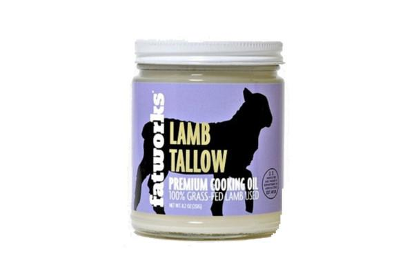 Grass Fed Pasture Raised Lamb Tallow by Fatworks