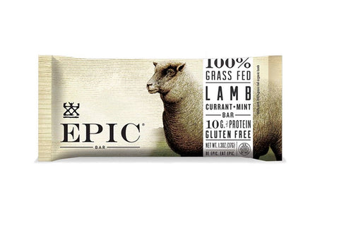 Grass-Fed Lamb Currant + Mint EPIC Bar by EPIC