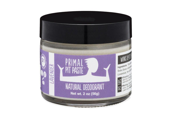 Lavender Deodorant Jar by Primal Pit Paste