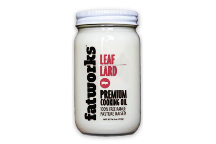 100% Pastured Leaf Lard by FatWorks