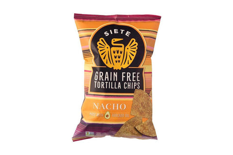 Grain Free Cassava Tortilla Chips by Siete Foods, Nacho