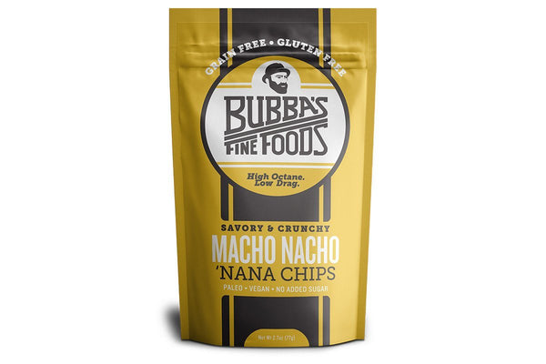 Macho Nacho 'Nana Chips by Bubba's Fine Foods