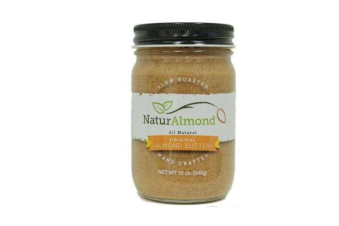 NaturAlmond Almond Butter, Original, by Georgia Grinders