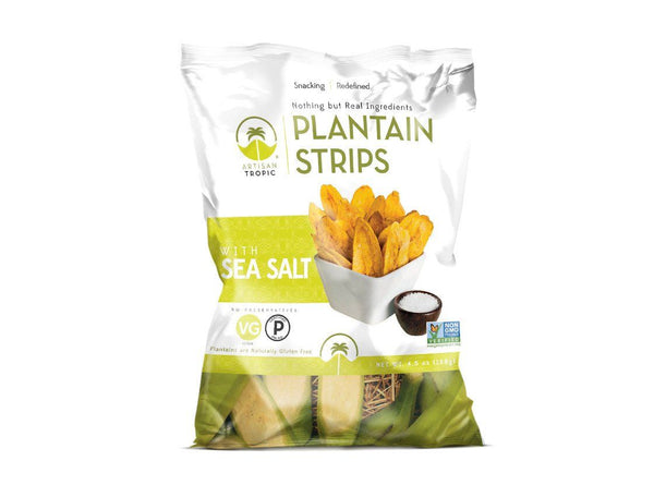 Sea Salt Plantain Strips. 4.5 oz by Artisan Tropic