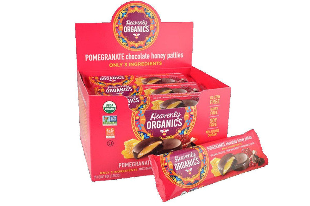 Organic Pomegranate Honey Patties by Heavenly Organics ...
