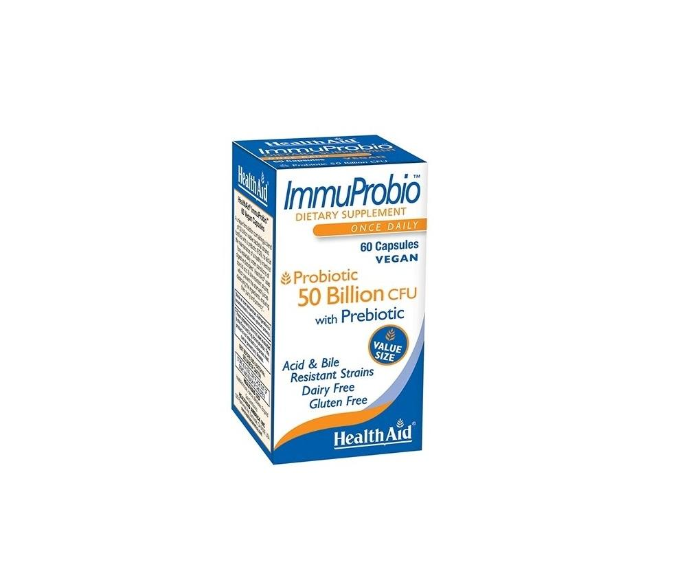 Probiotic ImmuProbio (50 Billion) 14 vegan capsules by Health Aid
