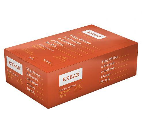 Pumpkin Spice Protein Bar by RXBAR
