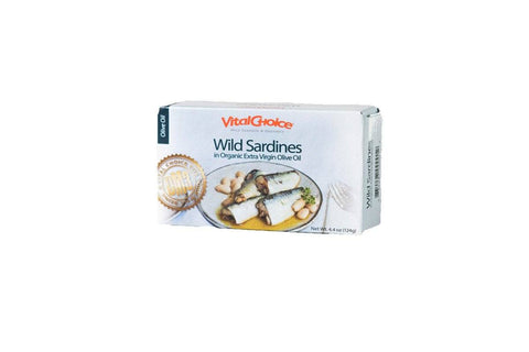 Sardines in Organic Olive Oil by Vital Choice