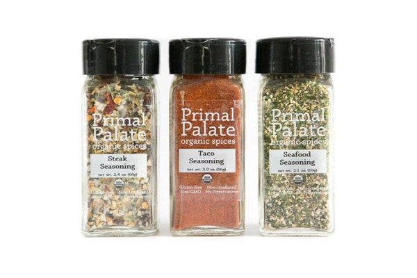 Griddle & Grill Spice Kit by Primal Palate