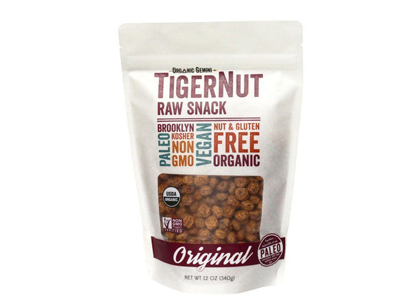 TigerNuts Dried Raw Snack by Organic Gemini