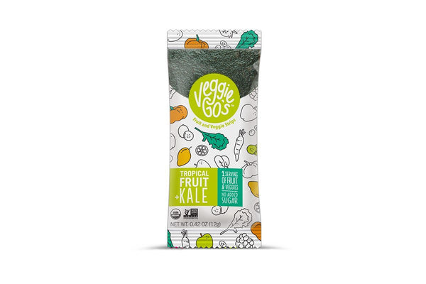Tropical Fruit + Kale Fruit and Veggie Strips by Veggie-Go