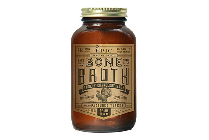 Turkey Cranberry Sage Bone Broth by EPIC