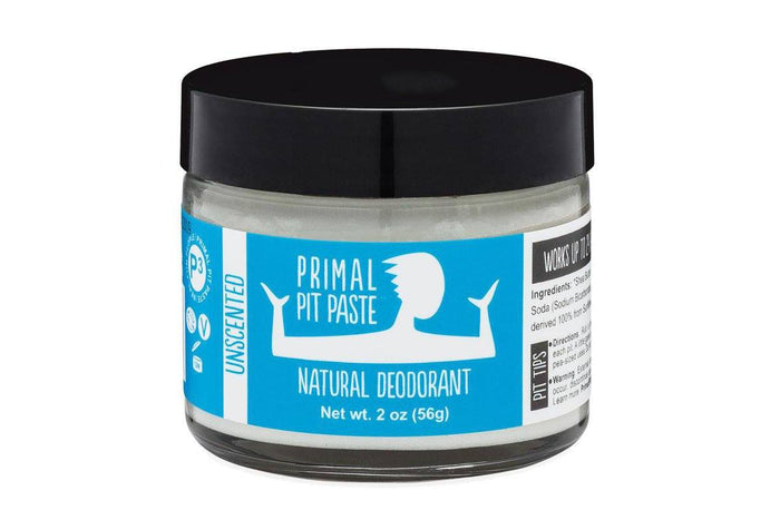 Unscented Deodorant Jar by Primal Pit Paste