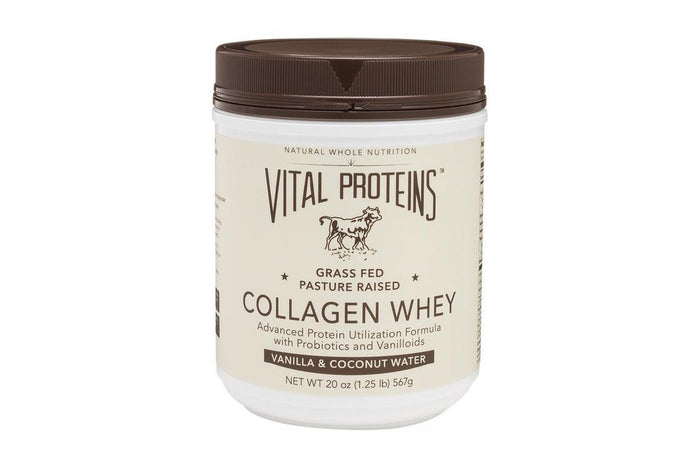 Grass-Fed Collagen Whey, Vanilla + Coconut Water, by Vital Proteins