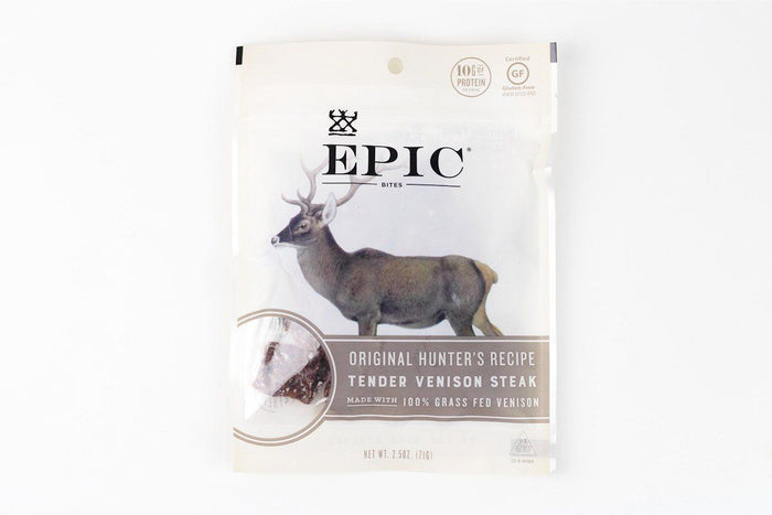 Original Hunter's Recipe Tender Venison Steak Bites by EPIC