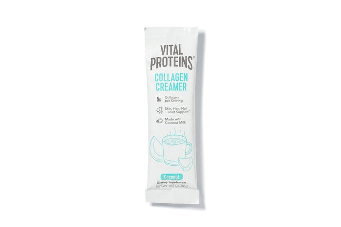 Collagen Creamer Single Serve Packet, Coconut, by Vital Proteins