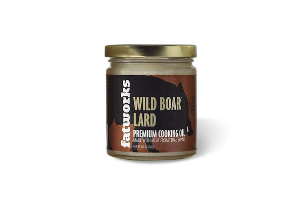 Wild Boar Lard by FatWorks