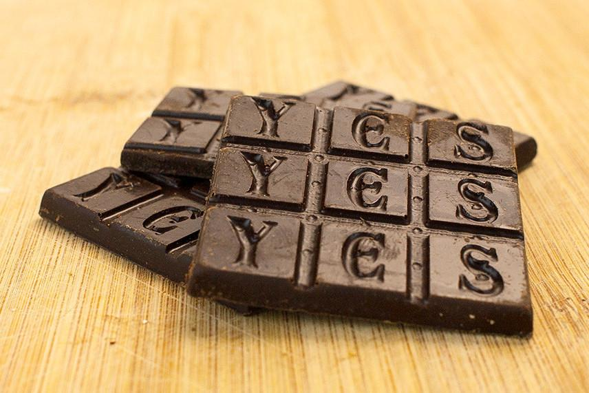 Dirty Botanical Chocolate Bar by Yes CaCao