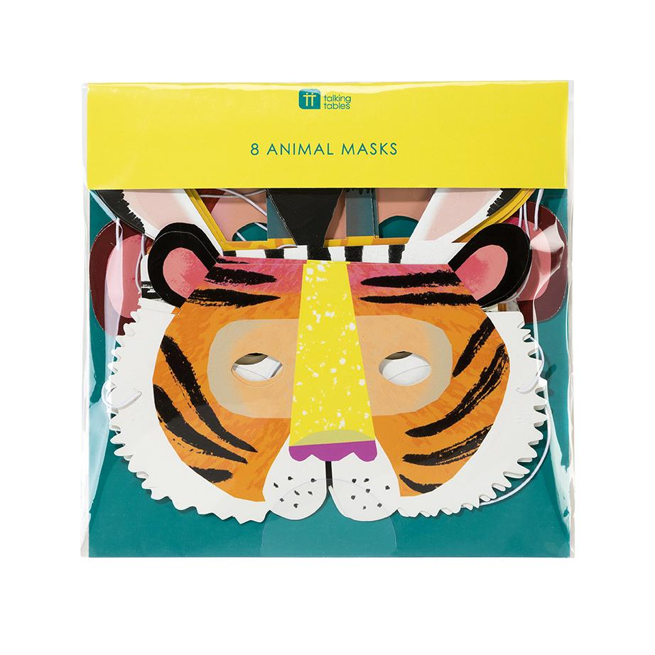 Animal Masks (8 pack)