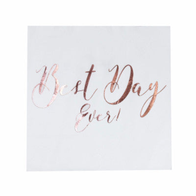 Best Day Ever Napkins (20 pack)